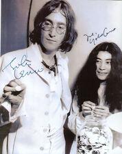 John Lennon & Yoko Ono ++ Autogramm ++  The Beatles ++ Musik-Legende Autograph