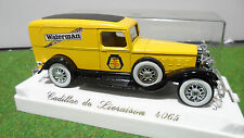 CADILLAC COMMERCIALE WATERMAN 1/43 AGE D'OR SOLIDO FRANCE 4065 voiture miniature