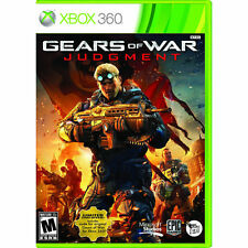 NEW! Gears of War: Judgment (Microsoft Xbox 360, 2013) Factory SEALED