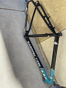 Used YETI 17.5 Mountain Bike Frame Bicycle Parts Black Turquoise Rough King HS