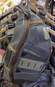 NEW UMPQUA ZS2 BANDOLIER FLY FISHING SLING PACK IN OLIVE COLOR FREE USA SHIPPING