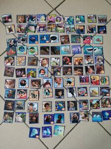 Gros Lot n1 autocollants stickers Micropopz Cora Match  Disney Pixar pas de doub