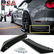 Sport Racing Carbon Fiber Rear Bumper Diffuser Splitter Canard for Ford Mustang