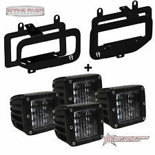 RIGID INDUSTRIES SAE APPROVED FOG LED LIGHT AND MOUNT KIT 15-17 FORD F150