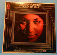 ARETHA FRANKLIN QUEEN OF SOUL LP '68 ORIGINAL PRESS NICE CONDITION! VG/VG!!A