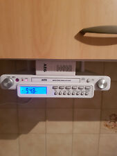 AEG AM/FM Stereo Unterbau Küchenradio mit CD Player und Fernbedienung WIE NEU