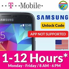 Express Unlock Code for *SAMSUNG Galaxy S2 S3 S4 S5 T-Mobile* desbloqueo