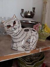 Cats by Nina ceramic Cat 2001 Nina Lyman