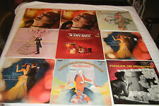 Lot of 9 ARTHUR FIEDLER LPs Plays Beatles, Strauss Waltzes, Offenbach, Marches