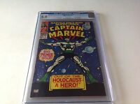 CAPTAIN MARVEL 1 CGC 6.0 OFF WHITE PAGES BIG PREMIERE ISSUE MARVEL COMICS