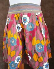 Jupe LA REDOUTE T38 - Jupe multicolore ample tout coton (1707009)