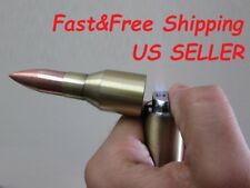 """2 Full Size 6"""" Bullet TORCH Lighters Refillable Multipurpose Outdoor BBQ Camping"""