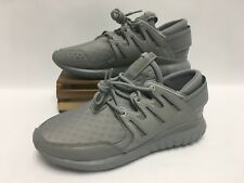 Adidas Tubular Nova Fashion Week Shoes Triple Gray S32009 Men's Size 12 NEW