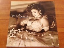 MADONNA - 1985 Vinyl 33rpm LP - LIKE A VIRGIN