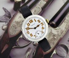 Como Nuevo De Colección Reloj Rolex oficiales de plata WW1 ley Londres 1916-Reino Unido la venta