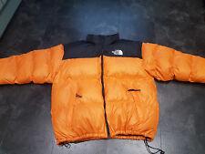 The North Face Nuptse 700 Down Filled Men's Puffer Jacket Orange 2XL - XXL