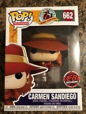 Funko Pop Television Carmen Sandiego EB Games Exclusive **IN HAND**
