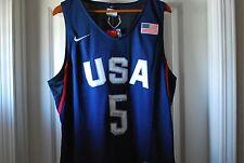 KD Kevin Durant USA Jersey Nike Blue Black NEW Size Medium