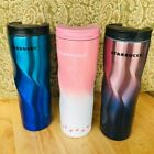 Starbucks Stainless Steel Insulated 16oz Tumbler, Violet, Pink.& Blue coffee cup