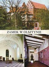 Old Postcard-Zamek w olsztynie