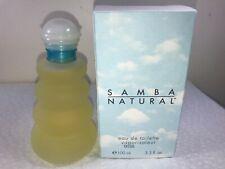 PERFUMER'S WORKSHOP SAMBA NATURAL EDT SPRAY 3.3 OZ WOMEN NEW UNSEALED (B27)