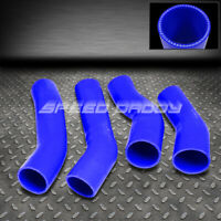 3-PLY SILICONE TURBO INTERCOOLER KIT PIPING HOSE FITS 90-96 300ZX Z32 Z BLUE