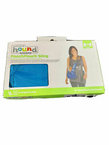 Outward Hound Pooch Pouch Sling, 0-15 lbs.3+ months, Blue