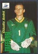 PANINI WORLD CUP 98- #008-BRAZIL & ATLETICO MINEIRO-CLAUDIO ANDRE TAFFAREL