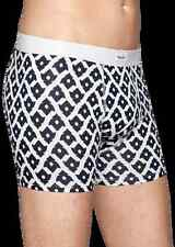 HAPPY SOCKS Mens LILY Boxer Briefs w/  Black & White Arrow Design Sz Small NEW