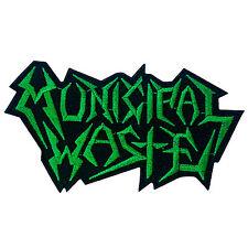 Municipal Waste Thrash Metal Punk Rock Music Band Embroidered Iron On Patch