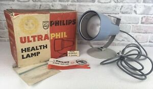 Philips Vintage UltraPhil UV Health Lamp With Original Instructions  And Boxed