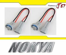 Nokya Wire Harness H9 NoK9117 Head Light Bulb Socket Female Male High Beam Plug