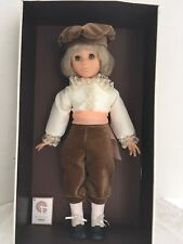 "Vintage France CR Club Compagnie du Jouet  Vinyl Doll 18"" Tall (4) In box"