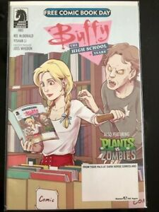 Buffy The High School Years Also Featuring Plants Vs Zombies Free Comic Book Day