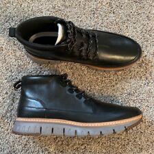 Brand New Cole Hann Zero grand sport rugged Chukka Black Boot 11.5 C31412