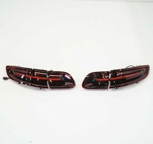 PORSCHE MACAN 95B Black Line Taillight Kit 95B04490012 New Genuine