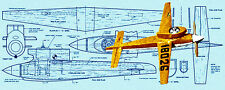"""Build a Vintage 1959 A Jewel Speed Plane Full Size Printed Plan .15 ws14 11/16"""""""