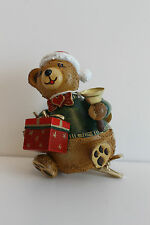 520-150h0001 Hubrig Baumclipser-Teddy Weihnachtsbärli