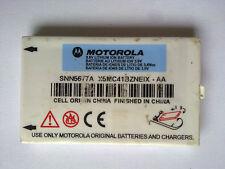 ORIGINALE Motorola snn5677a 3,6v lithium ion battery for c200 c201 c202