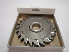 "Niagara Cutter S6102 6"" x 5/8"" x 1-1/4"" Side Mill Cutter Staggered Teeth HSS"