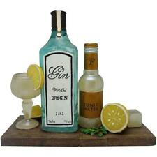 Gin Tonic Book Ends Decorative Bookshelf Display Organizers Gift Bookends