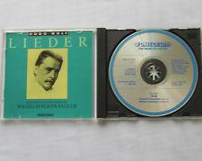 SCHWARZKOPF-FURTWANGLER / Hugo WOLF Lieder ITALY CD FONIT CETRA CDC 21 (1986)