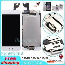 For iPhone 6 Replacement Screen LCD Display Touch Digitizer White Button&Camera