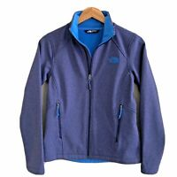 The North Face Womens S Windwall Canyonwall Softshell Fleece Lined Zip Jacket