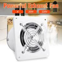 4/7/8''  Exhaust Fan Pro Extractor Ventilation Air Flow Bathroom Kitchen Toilet