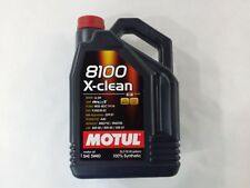 102051 Motul 8100 X-CLEAN 5W40 100% Synthetic Performance Engine Oil (5 Liter)