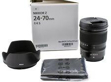 Nikon NIKKOR Z 24-70mm F/4 S Lens Mfg # 20072