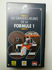 Les Grandes Heures  de la Formule 1 - 1989 - video VHS - As new