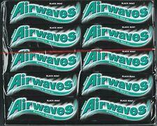30x Wrigleys Airwaves Black Mint Chewing Gum Full 30 pack 300 pcs