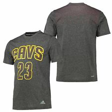 Adults Small Cleveland Cavaliers adidas Surface Player T-Shirt LeBron James M14